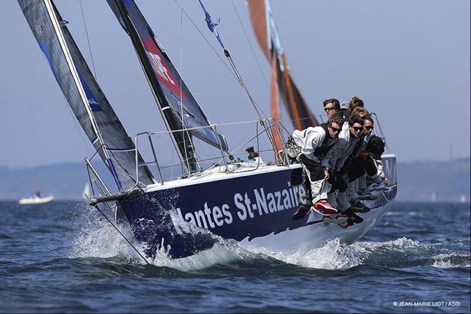 [Régate en flotte] Tour de France à la Voile – L'équipage Nantes-Saint-Nazaire à quelques jours du grand départ