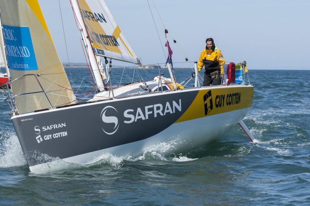 [Régate en flotte] La Solitaire du Figaro – Superbe finish de Corentin DOUGUET lors de la dernière étape.