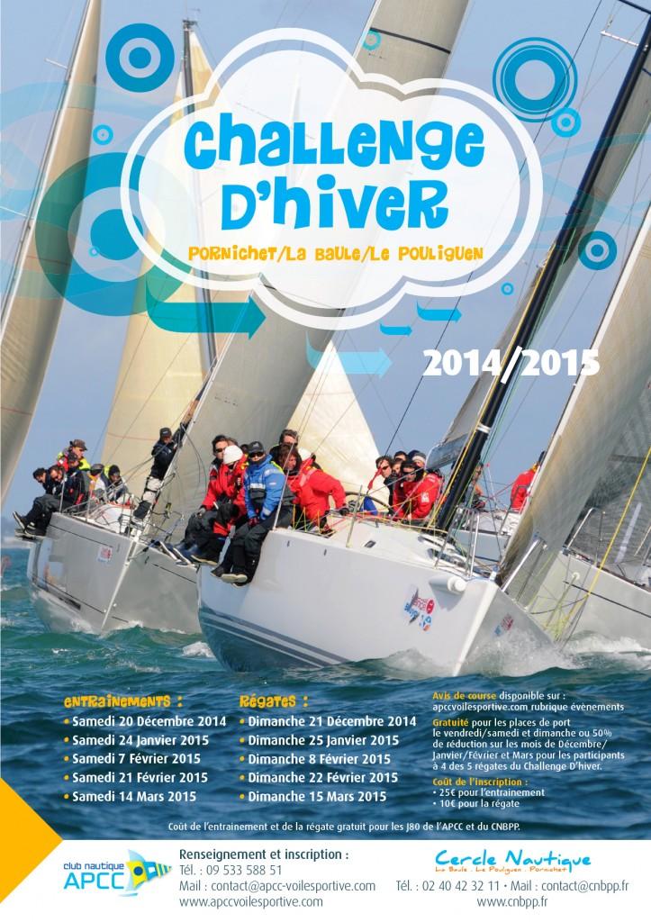 [Régate en flotte] Challenge d'Hiver 2014 / 2015