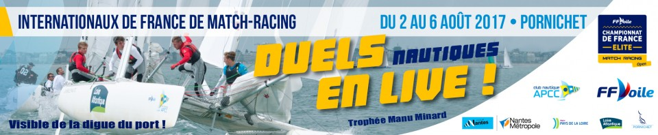 16ÈME ÉDITION DES INTERNATIONAUX DE FRANCE DE MATCH RACING 2017 !